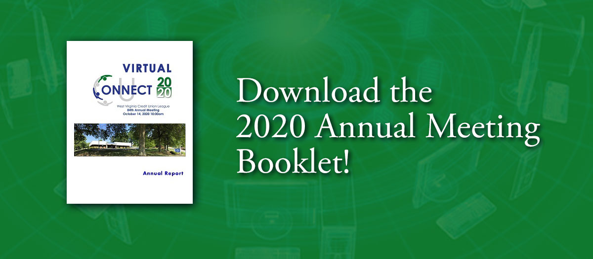 Download the 2020 Annual Meeting Booklet!