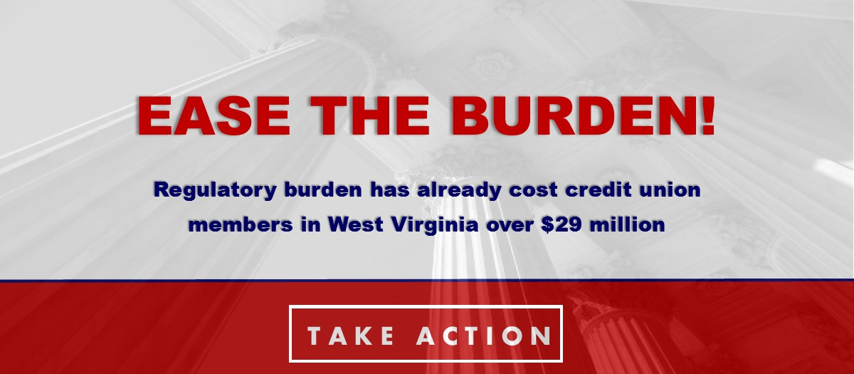 Take action on the regulatory burden!