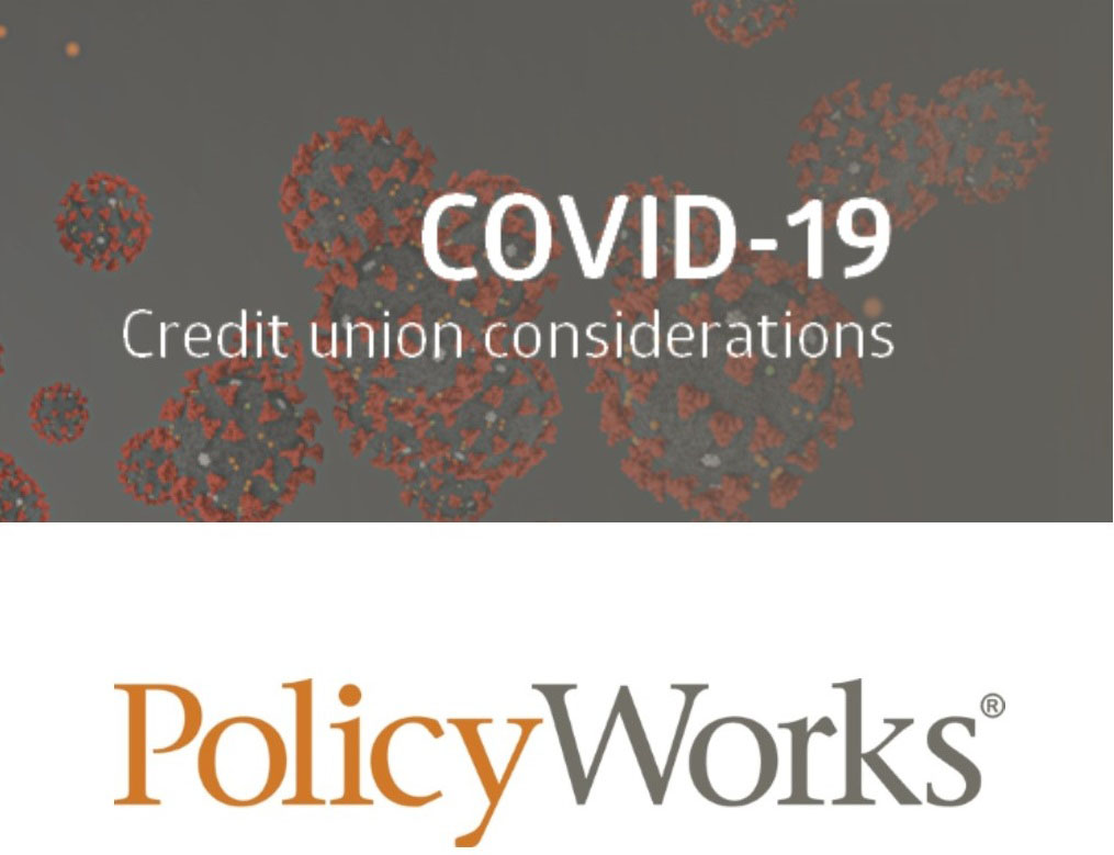 COVID-19 Credit Union Considerations
