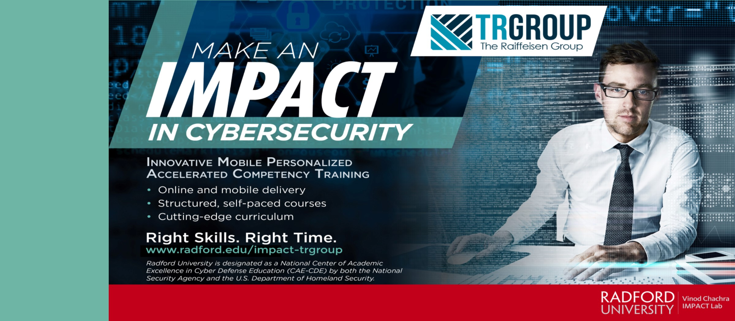 Make an Impact in Cybersecurity